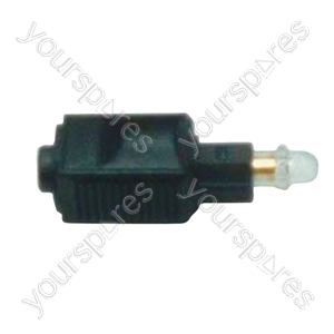 Fibre Optic Toslink Plug to Mini Jack