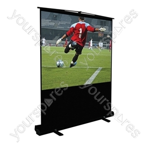 Height Adjustable Portable Projection Screen - Screen Size (mm) 1524 (60inch)