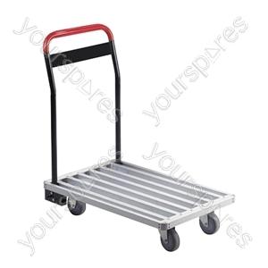 Aluminium Flat Bed Transport Trolley