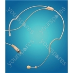 Eagle Flesh Coloured Discreet Electret Condenser Headset Microphone (3.5 mm jack)