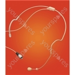 Eagle Flesh Coloured Discreet Electret Condenser Headset Microphone (4 Pin Socket)