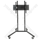 Mobile Floor Mounting Universal Flat Screen TV Bracket