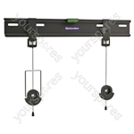 Ultra Slim Fixed Low Profile Fixed TV Mounting bracket - Screen Size 26-55 inch
