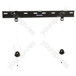 Ultra Slim Fixed Low Profile Fixed TV Mounting bracket - Screen Size 32-70 inch