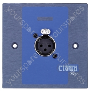 Cloud XLR-F1 Wall Plate