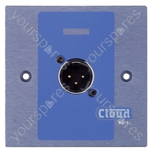 Cloud XLR-M1 Wall Plate