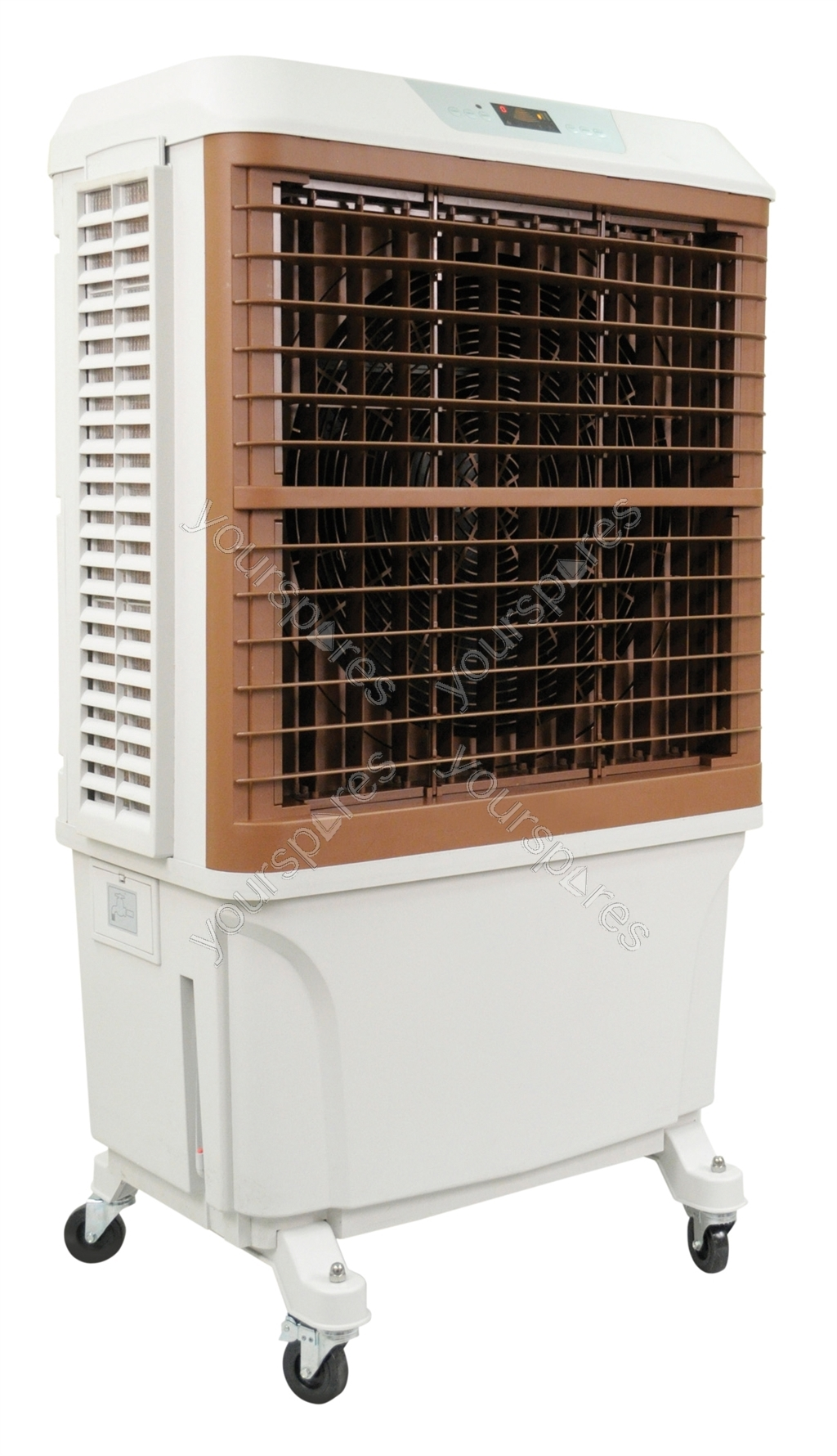 Evaporative Water Cooler : Remote control evaporative air cooler with l water tank