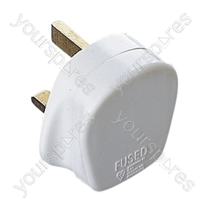 Eagle Standard 3 Pin UK Plug - Fuse Rating (A) 13