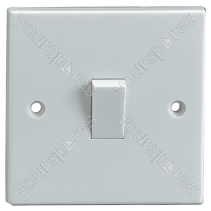 2 Way Single Gang Light Switch 10A