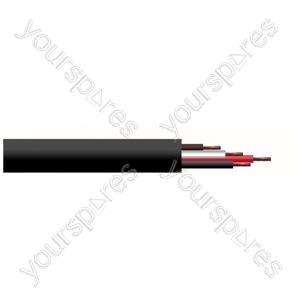 4 Core Hi-flex Professional PA Speaker Cable Reel - CSA (mm) 1.5