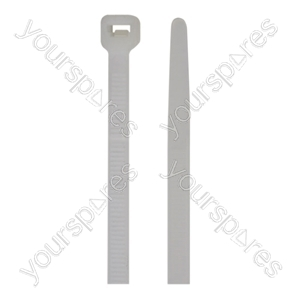 Natural Nylon Cable Ties (25) - Size 4.8mm x 200mm
