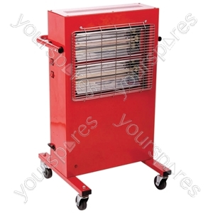 2kW Portable Commercial Halogen Heater