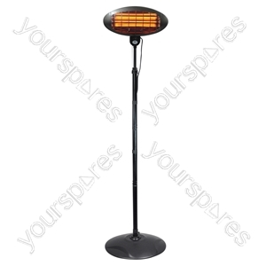 2 kW Pole Mounted Patio Heater
