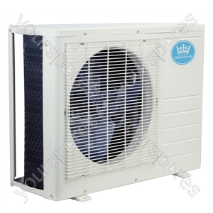 18000 BTU Per Hour Quick Fit Wall Mounted Inverter Air Conditioner Exterior Unit