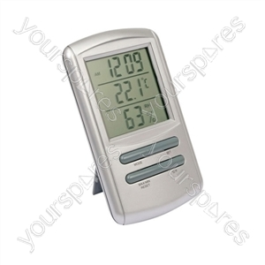 Indoor Clock-Hygro Thermometer