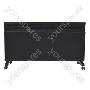 Black 1.5 kW Convection Heater