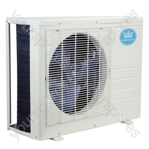 12000 BTU Per Hour Quick Coupling Wall Mounted Air Conditioner Exterior Unit