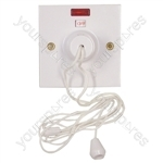 Ceiling Pull Switch with Neon 45A