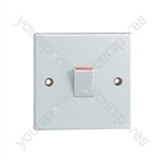 20 A Double Pole Switch. Bulk