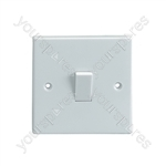 1 Way  Single Gang Light Switch 5A