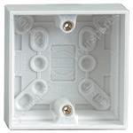 Single Gang Surface Box - Mounting Depth (mm) 30