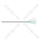 CW1308 Round Telephone Cable Hank 10 m - Number Pairs 3