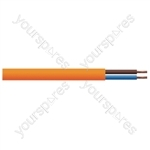 Round 2 Core 0.75mm PVC Flex 6A 3182Y Hank - Lead Length (m) 5