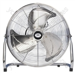"18"" (45 cm) High Velocity Air Circulator with Chrome finish - Type UK Model"