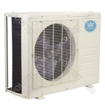 Prem-I-Air 18000 BTU Per Hour Easy Fit Wall Mounted Air Conditioner with Heat Pump Exterior Unit (Condenser)