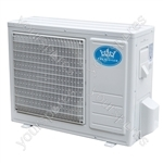 Prem-I-Air 12000 BTU Per Hour Easy Fit Wall Mounted Air Conditioner with Heat Pump Exterior Unit (Condenser)