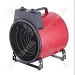 3 kW Commercial Fan Heater with 2 Fan Speed Settings - Type UK Model