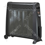 Lightweight 2.5 kW Mica Oil-Free Radiator with Remote Control