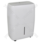 Prem-I-Air 30 L Compressor Moisture Absorbing Dehumidifier with 4.7 L Tank Capacity and Timer - Type UK Model