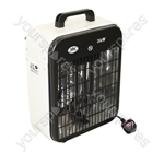 3 kW Electrical Fan Heater 3 Heat Settings
