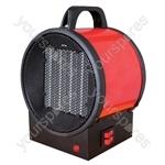 Prem-i-air 2kW Utility PTC Electrical Fan Heater With 2 Heat Settings