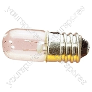 Clear MES Screw Fitting Bulb - Voltage 6V
