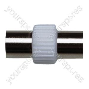 Coaxial Line Plug to Line Plug Coupler