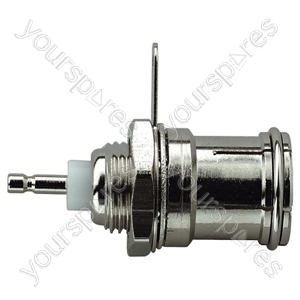 Coaxial Chassis Socket with Solder Terminals
