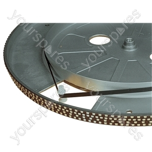 Replacement Turntable Drive Belt - Diameter (mm) 158
