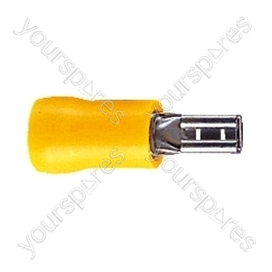 Push On Receptacle Crimp Terminal - Colour Yellow