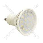 Crompton 240 V 4 W LED 25,000 Hour 110 Degree GU10 Lamp - Colour Warm White