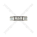 Domestic Mains Fuses (Blister of 4) - Rating (A) 5