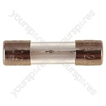 32 mm Glass Slow Blow Fuse  - Rating (A) 600mA