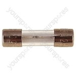32 mm Glass Slow Blow Fuse  - Rating (A) 750mA