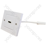 Eagle Single HDMI Wall Plate With Flying Lead