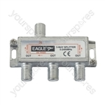 Satellite Splitter with DC Pass - Frequency 1 GHz