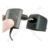 Black 3 A Fused Euro Converter Plug 2 Pole Euro Plug to 3 Pin UK Plug