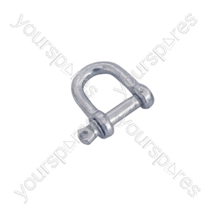 D Type Shackle (6 mm) - Size (mm) 6