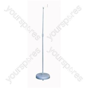 Black Adjustable Surround Sound Speaker Stand