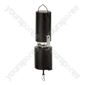 Soundlab 1 RPM Battery Powered Mirror Ball Motor with Easy Hang Bracket